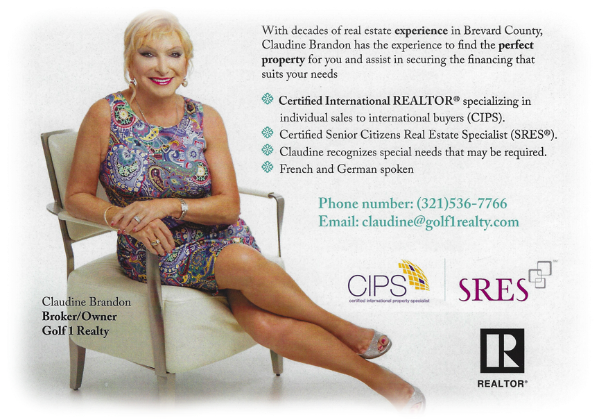 Claudine Brandon Certified International REALTOR(r)